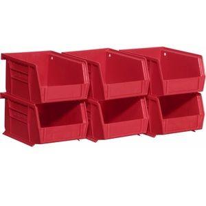 Akro Bins stacking bins set of 6